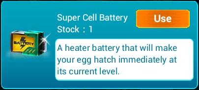 Super Cell Battery Info