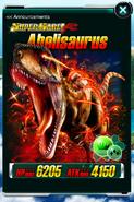 Super Rare Abelisaurus