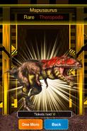 Rare Mapusaurus