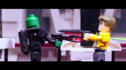 KRE-O STAR TREK Stop Motion Digital Short