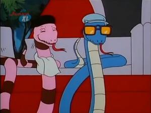 Monty and snake eyes