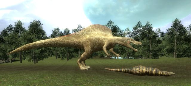 File:Gmod Spinosaurus vs. Tyrannosaurus.png