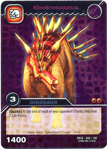 Kentrosaurus Dinosaur King Image - Kentrosaurus T...