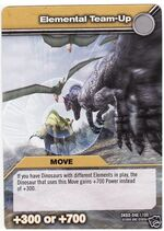 Elemental Team-Up TCG Card