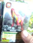 DKJC Muttaburrasaurus TCG card