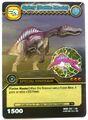 Spinosaurus - Spiny Battle Mode TCG Card 3-DKBD-Silver