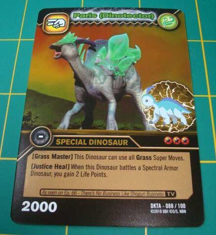 File:Parasaurolophus - Paris DinoTector TCG Card 3-DKTA-Gold (French).jpg