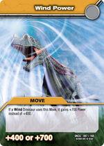 Wind Power TCG Card