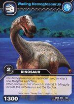 Nemegtosaurus-Wading TCG Card