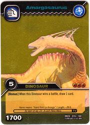 Amargasaurus TCG Card