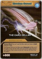 Erosion Sword TCG Card 1-Gold