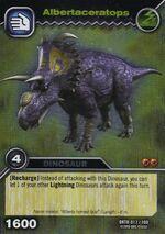 Albertaceratops TCG Card