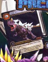 Carnotaurus - Ace DinoTector TCG Card 5-PP1-Colossal (French)