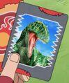 Carcharadontosaurus card