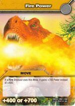 Fire Power TCG Card
