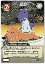 Carnotaurus - Ace TCG Card 3-DKBD