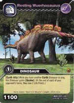 Wuerhosaurus-Resting TCG Card (German)