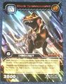 Tyrannosaurus Black TCG Card 2-Collosal (German)