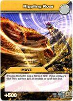 Swaying Roar TCG Card (French)