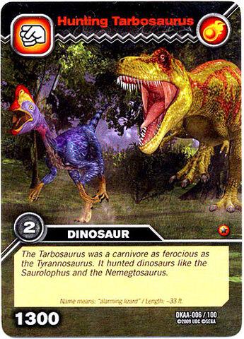 File:Tarbosaurus-Hunting TCG Card.jpg