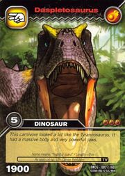 Daspletosaurus TCG Card