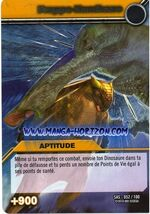 Kamikaze Tackle TCG Card 2-Silver (French)