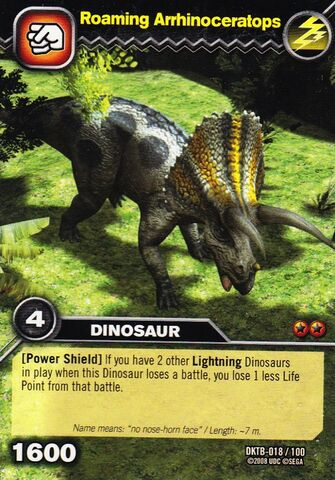 File:Arrhinoceratops-Roaming TCG Card.jpg