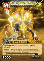 Chomp armor TCG card