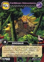 Edmontonia-Carribean TCG Card (German)