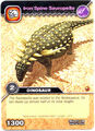 Sauropelta-Iron Spine TCG Card
