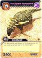 Sauropelta-Iron Spine TCG Card