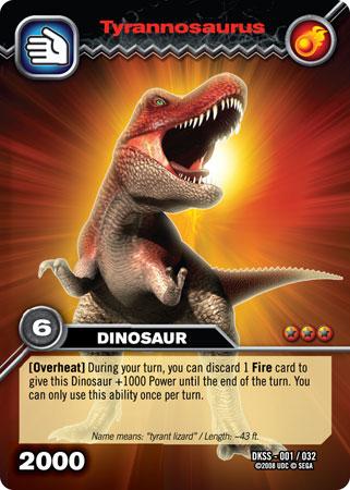 File:Tyrannosaurus TCG card.jpg