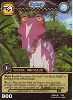Spinosaurus - Spiny TCG Card 2-DKAA