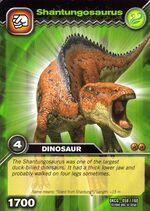 Shantungosaurus TCG Card