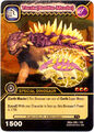 Saichania - Tank Battle Mode TCG Card 1
