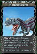 Raging ceratosaurus