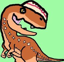 Monolophosaurus chibi