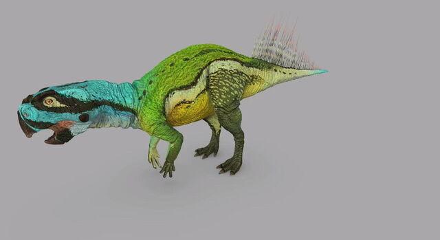 File:Dinosaur Revolution Psittacosaurus.JPG