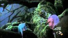 Dinosaur Revolution Guanlong Castorocauda Volaticotherium sequence