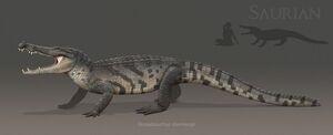Borealosuchus Saurian
