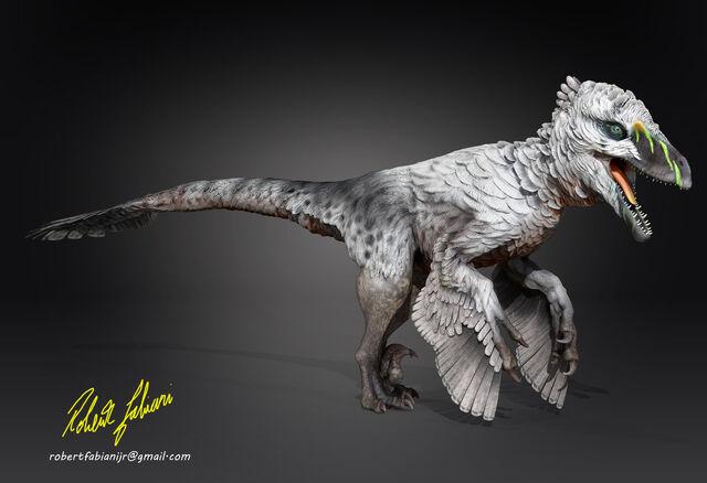 File:Dakotaraptor steini by robertfabiani-d9fjhm4.jpg