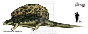 Ianthasaurus hardestii by Theropsida