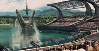 Mosasaur Feeding Show Jurassic World