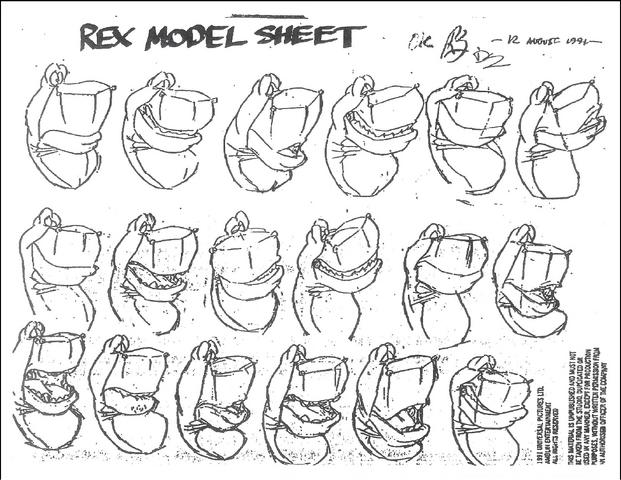 File:We're Back Official Model Sheet Rex 3.png