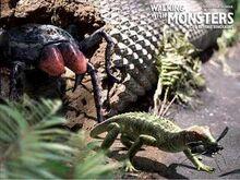 Mesothelae-Petrolacosaurus