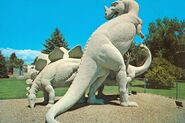 Ceratosaurus Vernal-postcard