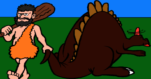 File:The Caveman and the Stegosaurus.png