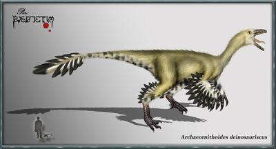 Archaeornithoides deinosaurisc by karkemish00