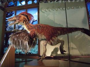 Deinonychus im NHM Wien