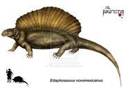 Edaphosaurus novomexicanus by Theropsida